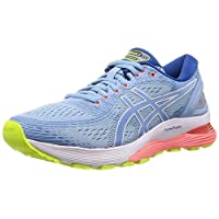 ASICS Gel-Nimbus 21, Women's Road Running Shoes, Blue (Heritage Blue/Lake Drive), 39 EU