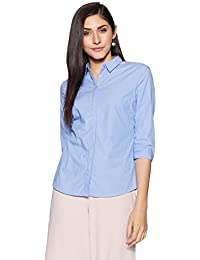 Van Heusen Women's Regular Fit Cotton Shirt