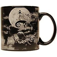 Silver Buffalo NB3334 Disney Nightmare Before Christmas Boogeyman Ceramic Ceramic Mug, 20 oz, Black by Disney