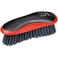 Oster 324468Cepillo de Limpieza para Caballos, Color Negro/Rojo