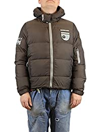 58dfc1dc0ceea Nordkapp Chpapa Real Goose Down Jacket with Hood Grey And Brown