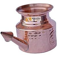 blomideal (TM) Lebensmittelqualität Kupfer Jala Neti Pot (500ml)-gehämmert Design | hygienischen und aus reiner... preisvergleich bei billige-tabletten.eu
