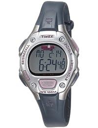 Timex Ironman 30 Lap T5K411 - Reloj de mujer de cuarzo, correa de caucho color negro
