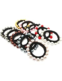 Radhey Fashion Newly Arrived Running Multicolored Rubber Bands (Set Of 10)