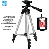 HoA 40 Inch Tripod With Mobile Holder & Quick Release Plate With 1/4 Inches Screw For DSLR/Camcorder / Motion Camera