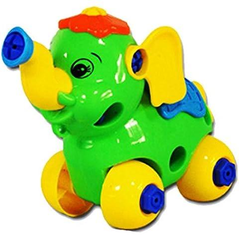 Fortan gioca il regalo di Natale di smontaggio Elephant Car Design educativi per i bambini