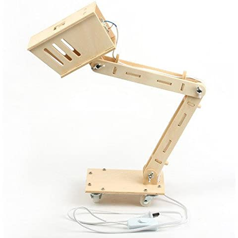 NASEN BRICOLAJE plegable mesa ojo bricolaje madera creativo de la lámpara