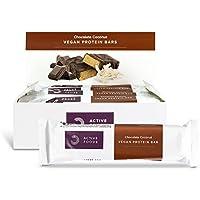 BULK POWDERS Chocolate Coconut Vegan Protein Bar, Box of 12