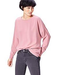 find. Camiseta de Manga Larga y Cuello de Pico Mujer