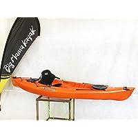 Big Mama privat Kayak Canoa de 295cm + 2+ 1asiento gavoni + 1Remo (Full Pack) Made in Italy, ARANCIONE