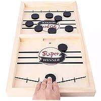 لعبه الهوكى الخشب الطاوله الروسيه سلينغ باك fast sling puck game