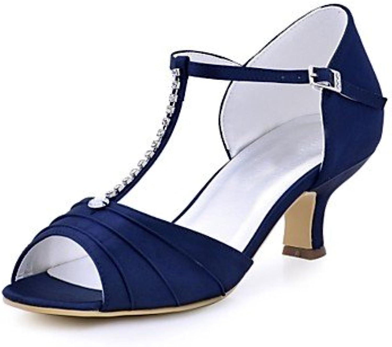Il miglior regalo per donna e madre Per Per Per donna Scarpe Raso elasticizzato Estate Decolleté scarpe da sposa Quadrato... | Trendy  | Uomini/Donna Scarpa  69b908