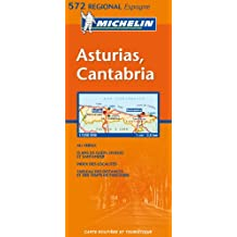 Carte RGIONAL Asturias, Cantabria