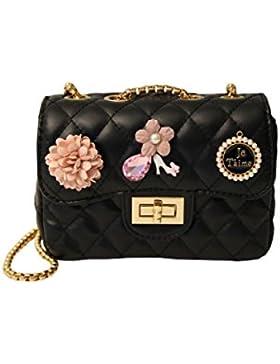 Sweet Deluxe Damen Trachtentasche JeTaime, gold/schwarz/rose A000153