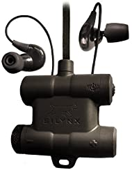 silynx Unisex Clarus Pro cancelación de ruido auriculares con micrófono, Negro