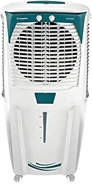 Crompton Ozone 88-Litre Inverter Compatible Desert Air Cooler with Honeycomb Pads for Home and Commercial (Whi