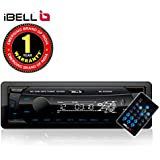 iBELL DXP500 Car Stereo Media MP3 Music System 140W, Bluetooth One Touch to Receive Call with FM/AUX/USB/MMC