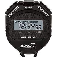 Marathon Adanac 4000Digital Stopwatch timer con extra ampio display e tasti, resistente all' acqua, un anno di garanzia, Unisex - Adulto, FBA_ST083009, Cruz V2 Fresh Foam, 1