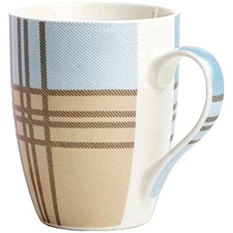 Taza europea simple cerámica par de Copa Copa de leche para Ministerio Copas ( Color : #3 )