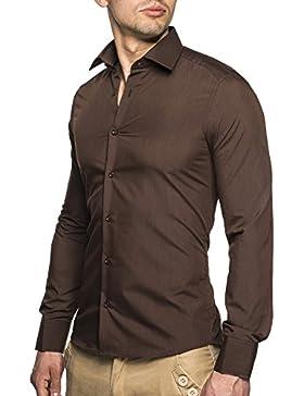 NELSON LEIF LNHEMD1 Camicia da uomo