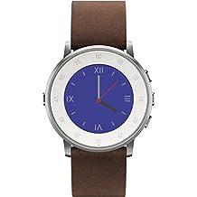 "Pebble Time Round - Smartwatch  (20 mm, 1.25"", Bluetooth, Li-ion), color plateado"