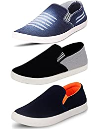 Maddy Perfect Combo Pack Of 3 Sneaker For Men's In Various Sizes