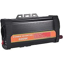 WZTO 600W Inversor de Corriente DC 12V a AC 220V-240V Convertidor de Corriente con