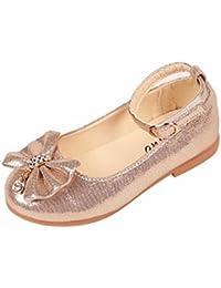 K-youth® Zapatos Niñas Carnaval Zapato Princesa Niña Sandalias de Vestido Flat Shoes Bailarinas Princesa Zapatos con Tacón Para Cumpleaños Fiesta Cosplay
