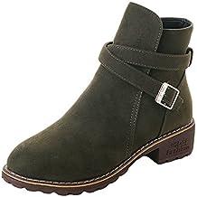 Zapatos Botas Felpa Forro Botas,ZARLLE 2018 Botines CuñA Para Mujer OtoñO Invierno Moda Zapatos