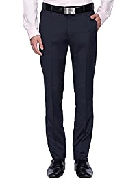 Stop By Shoppers Stop Mens 4 Pocket Printed Formal Trousers