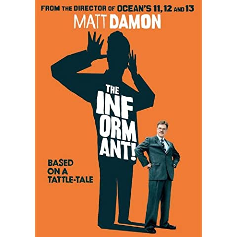 Il belga Informant Movie Poster!, 69 x 102 cm Matt Damon Melaine Lynskey Frank Welker Clancy Scott Bakula Patton Oswalt, colore: marrone