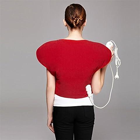 G&M Temperatura di riscaldamento elettrico originale calda abbastanza abbigliamento Red Bean Bag moxibustione con borsa farfalla sulla borsa posteriore calore