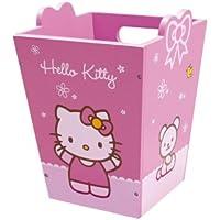 Jemini 711494 - Papelera de Madera, diseño de Hello Kitty