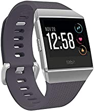 Fitbit Ionic Health & Fitness Smartwatch (GPS) with Heart Rate, Swim Tracking & Music - Slate Blue/Bur