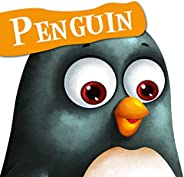 Cutout Board Book: Penguin( Animals and Birds) (Cutout Books)