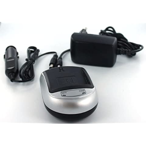 Caricabatterie compatibile con per Canon BP-406