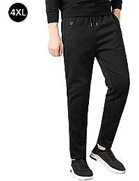 gaeruite - Pantalones calefactables para Invierno (radiación Inteligente, con Forro Polar, calefacción por USB, para Acampada, Senderismo), As Show, 4XL