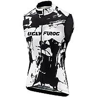 Uglyfrog Un Ciclo Maillots Primaveral Bike La Ropa De Los Hombres Sin Mangas Ciclismo Chaleco Cremallera Completa Transpirable ESHSV11