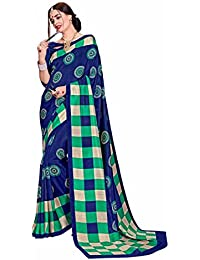 Maxis Women's Printed Art Silk Saree