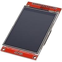 """BQLZR rojo 240 x 320 resolución 2.8 """"SPI TFT LCD a color Panel táctil módulo de puerto serie con PBC ILI9341"""