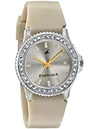 Fastrack Analog Beige Dial Women's Watch-9827PP15J