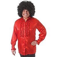Amazon.it  Camicia da uomo rossa  Giochi e giocattoli 870c534daf76