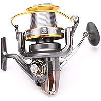 Carrete de pesca spinning 12 + 1BB 13 rodamientos de bolasIntercambiable izquierda / derechaLJ3000-9000 Super Big Sea Fishing Rueda de playa Rueda giratoria de metal Alta velocidad (LJ3000Series)