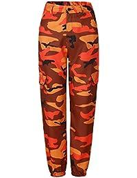 Donna Pantaloni Militari Tempo Libero Sciolto Streetwear Hip Hop Stile Pantaloni  Harem Pantaloni di Lanterna Eleganti f59b378ed299