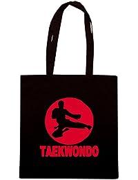 T-Shirtshock - Bolsa para la compra TAM0171 taekwondo hooded sweatshirt