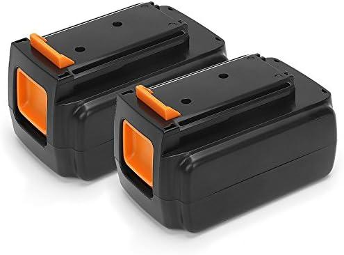 POWERGIANT 2PCS 36V 2.0Ah Li-ion Batteria per nero & & & Decker BL20362 LBX2040 LBX36 LBXR36 LBXR2036 GWC3600L20, con indicatore di livello di carica | marchio  | Ottima classificazione  | Lussureggiante In Design  | A Basso Prezzo  | Dall'ultimo modello 670b8f