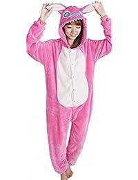 EOZY Pijama Para Mujer Hombre Adulto Diseño De Animal Rosa Tamaño M