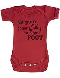 0c8cdc5c0ef1 Amazon.fr   Rouge - Bodys et combinaisons   Bébé garçon 0-24m ...