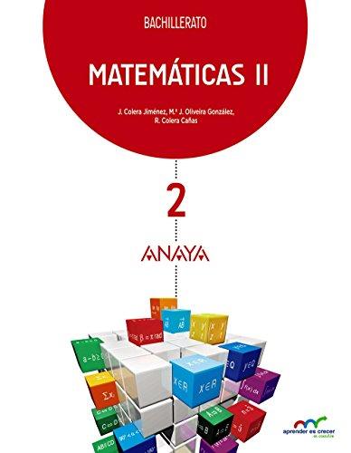 Matemáticas II (Aprender es crecer en conexión)