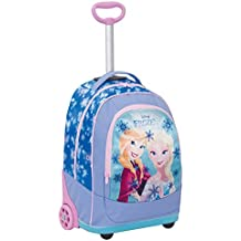 d7046c97ca Big Trolley Disney , FROZEN , Azzuro , 30 Lt , 2in1 Zaino con spallacci a
